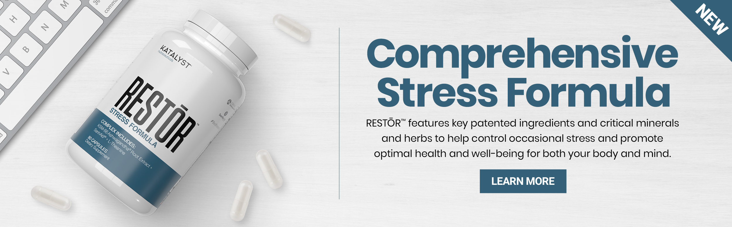 Katalyst - Restor - Comprehensive Stress Formula - Click to Learn More